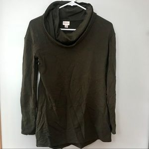 oversized turtle/cowl neck sweater